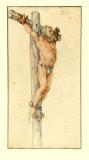 The Good Malefactor Samlertryk af Albrecht Dürer