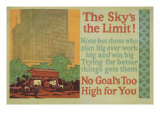 The Skys The Limit! Poster