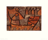 Dark Voyage Collectable Print by Paul Klee