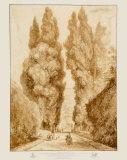 Park at the Villa d'Este Reproduction pour collectionneurs par Jean-Honoré Fragonard