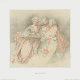 The Embroiderers Collectable Print by Jacques Andre Portail