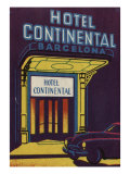 Hotel Continental Barcelona Spain Art