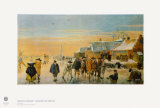 Ice Bowling Collectable Print by Hendrick Avercamp