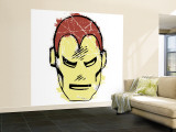 Marvel Comics Retro: The Invincible Iron Man (aged) Premium Wall Mural (Large)