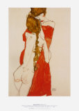 Mother and Daughter, c.1913 Print by Egon Schiele