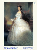 Empress Elisabeth, c.1865 Posters by Franz Xaver Winterhalter