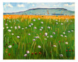Meadow, c.1902 Prints by Ferdinand Hodler