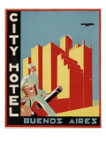 City Hotel Buenos Aires Art