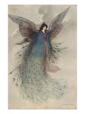 The Moon Maiden Prints by Warwick Goble