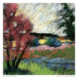 Pastel Landscape I Posters av Jacques Clement