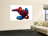 Spider-Man Shooting Premium Wall Mural