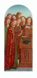 Singing Angels Collectable Print by Jan van Eyck 
