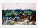 Wire Producing Mill Print by Albrecht Dürer