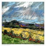 Pastel Landscape II Poster av Jacques Clement