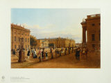 Berlin: The New Guardhouse and the Armoury Collectable Print by Wilhelm Bruecke