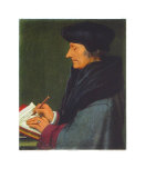 Erasmus von Rotterdam Collectable Print by Hans Holbein the Younger