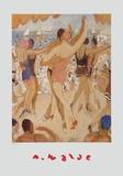 Dancers Print by Alfons Walde
