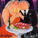 Amour vrai Posters par El Van Leersum