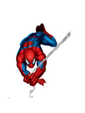 Spider-Man Swinging Prints