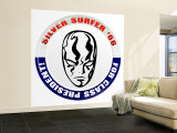 Marvel Comics Retro: Silver Surfer '66 for Class President (aged) Wall Mural – Large