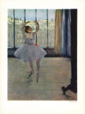 Dancer at the Photographers Collectable Print by Edgar Degas