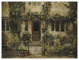 English Cottage IV Print by Terry Lawrence
