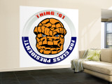 Marvel Comics Retro: Thing '61 for Class President! (aged) Wall Mural – Large