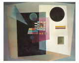 Maintaining, c.1926 Prints by Wassily Kandinsky