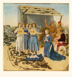 The Nativity Collectable Print by  Piero della Francesca