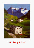 Spring in Tyrol Posters by Alfons Walde
