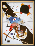 Two Black Spots Prints by Wassily Kandinsky