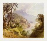 View of Salzburg Samlertryk af Fischbach