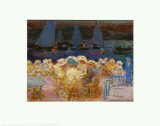 Dawn at the Ferry House d'Uhlenhorst Print by Pierre Bonnard