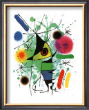 The Singing Fish Prints by Joan Miró