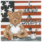 Nounours USA Prints by Willy Renoux