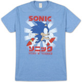 Sonic the Hedgehog - Kanji Classic T-Shirts