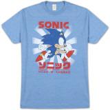 Sonic the Hedgehog - Kanji Classic T-shirts