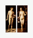 Adam and Eve, c.1507 Posters by Albrecht Dürer
