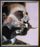 Etude de George Dyer, c.1969 Art by Francis Bacon