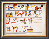 Succession, c.1935 Art by Wassily Kandinsky