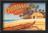 Outrigger Inn, Hawaii Affiches