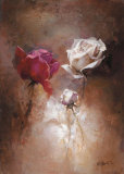 A Couple II Posters by Willem Haenraets