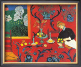 Red Bedroom Poster by Henri Matisse