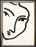 Nadia au Menton Pointu, 1948 Prints by Henri Matisse