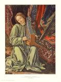 Angel Making Music (detail) Samlertryk af Andrea Mantegna