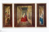 Altar Piece Samlertryk af  Jan van Eyck
