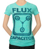 Juniors: Back to the Future - Flux Capacitor T-shirts