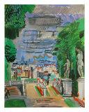Le Parc de Saint Cloud, c.1919 Poster von Raoul Dufy