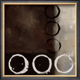 Beige Circles II Prints by Laurie Maitland
