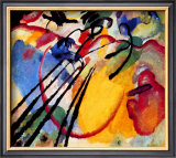 Improvisation Framed Giclee Print by Wassily Kandinsky